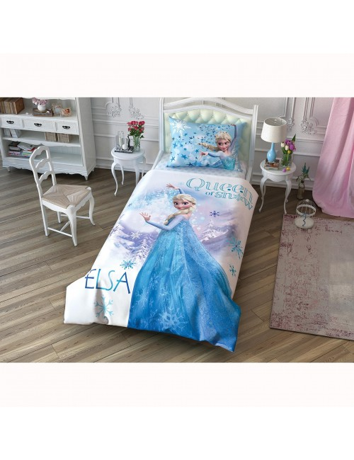 TAC Disney / DISNEY FROZEN Лицензионные Комплекты детского постельного белья с героями из мультиков Ранфорс