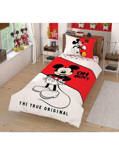 TAC Disney / Mickey Лицензионные Комплекты детского постельного белья с героями из мультиков Ранфорс