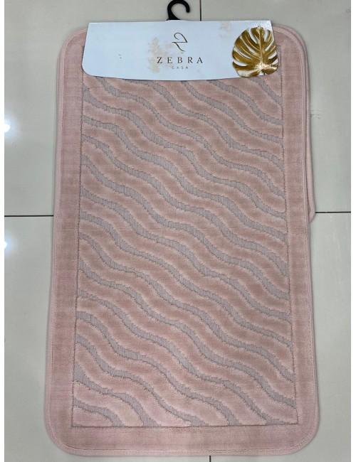 ZEBRA CASA SIDNEY PUDRA / Очень мягкие коврики для ванной комнаты