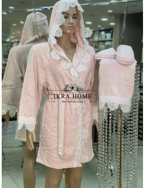 ANTIQUE Zebra Casa / Банный халат из 5 предметов 100% хлопок