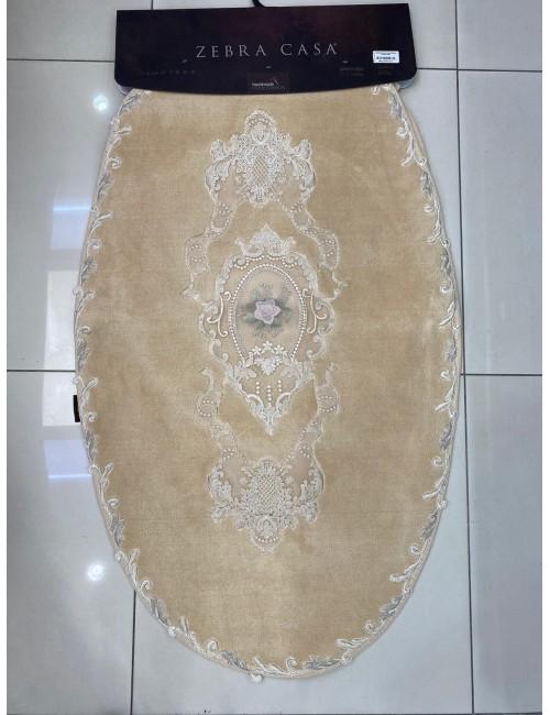 ZEBRA CASA FLORENSA BEJ / ОВАЛНЫЕ коврики для ванной комнаты