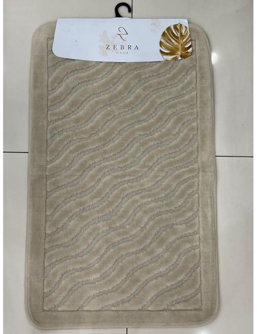 ZEBRA CASA SIDNEY BEJ / Очень мягкие коврики для ванной комнаты