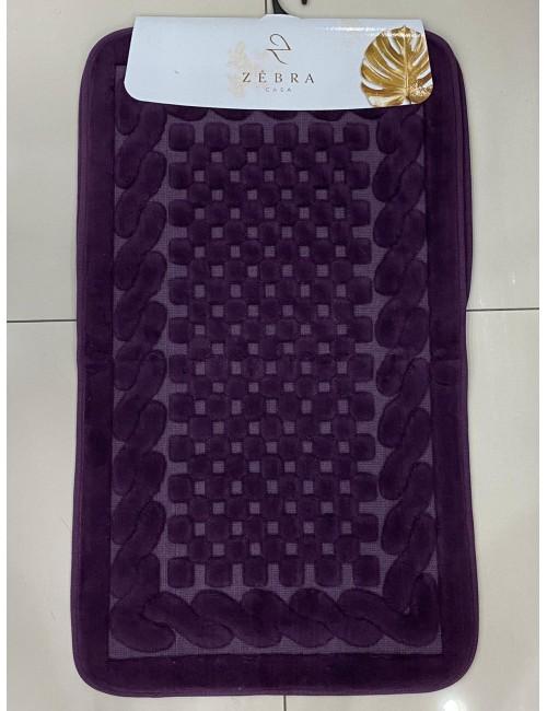 ZEBRA CASA OSLO MOR / Очень мягкие коврики для ванной комнаты