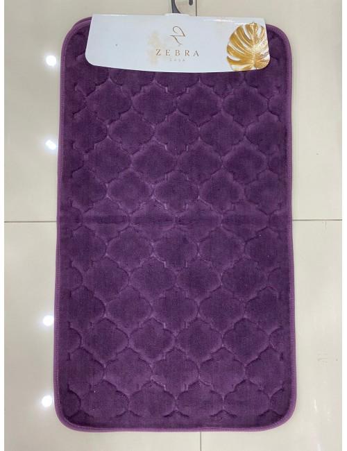 ZEBRA CASA SOLİD MOR / Очень мягкие коврики для ванной комнаты