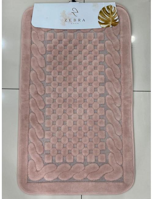 ZEBRA CASA OSLO PUDRA / Очень мягкие коврики для ванной комнаты