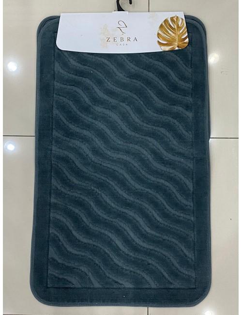 ZEBRA CASA SIDNEY INDIGO / Очень мягкие коврики для ванной комнаты
