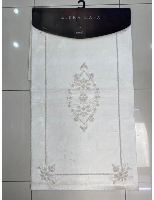 ZEBRA CASA PAISLEY KREM / ОВАЛНЫЕ коврики для ванной комнаты