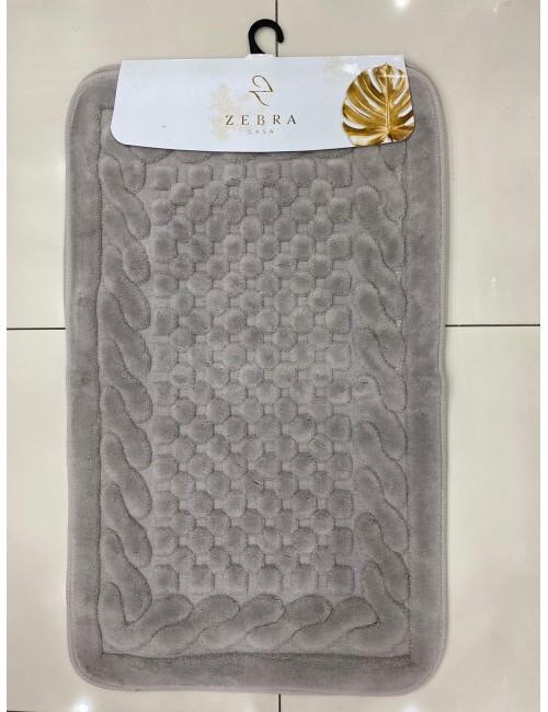 ZEBRA CASA OSLO ANTRASIT / Очень мягкие коврики для ванной комнаты