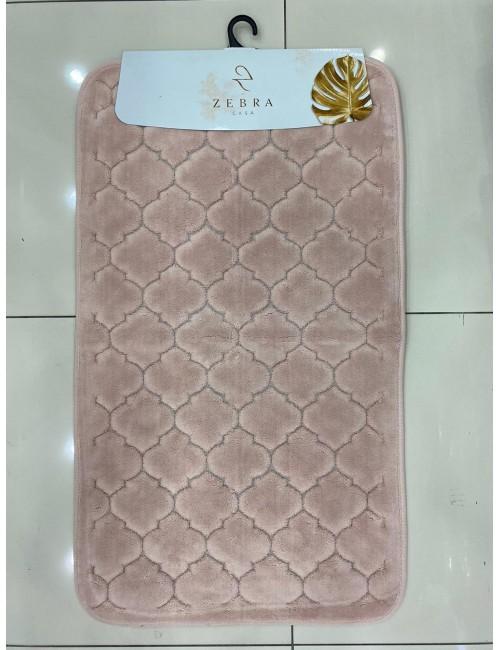ZEBRA CASA SOLİD PUDRA / Очень мягкие коврики для ванной комнаты