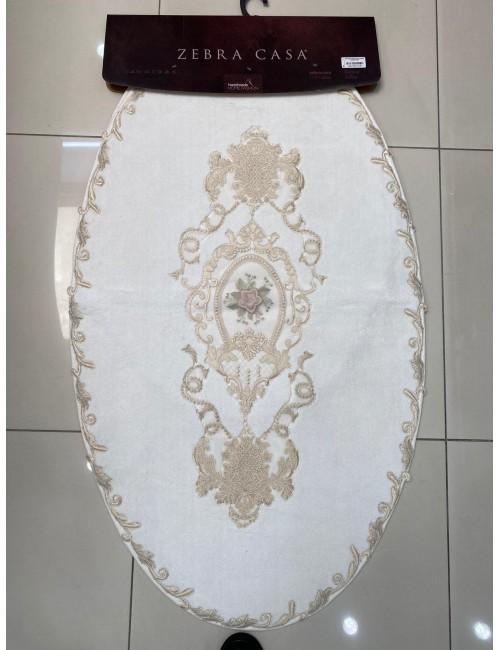 ZEBRA CASA FLORENSA KREM / ОВАЛНЫЕ коврики для ванной комнаты
