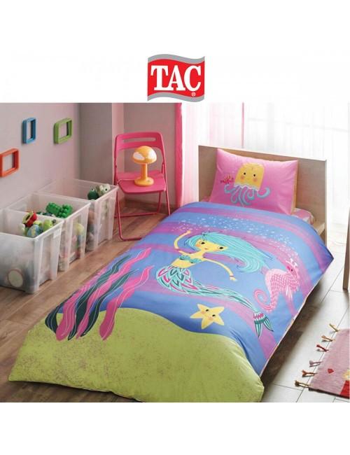 TAC Disney / Deniz kizi Лицензионные Комплекты детского постельного белья с героями из мультиков Ранфорс