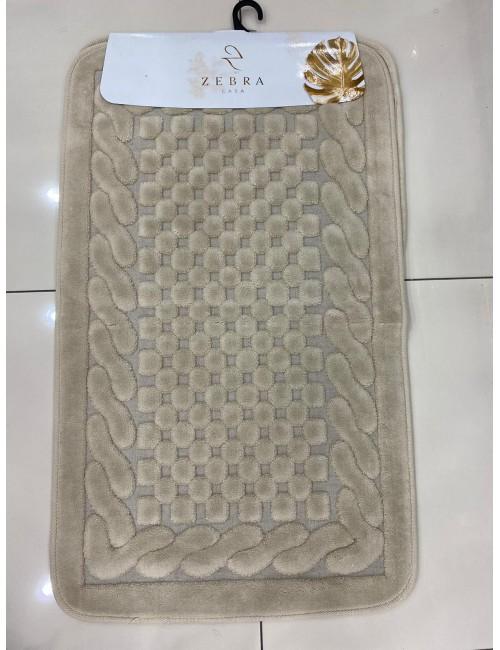 ZEBRA CASA OSLO BEJ / Очень мягкие коврики для ванной комнаты