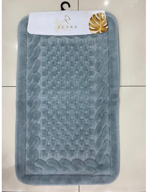 ZEBRA CASA OSLO GRI / Очень мягкие коврики для ванной комнаты