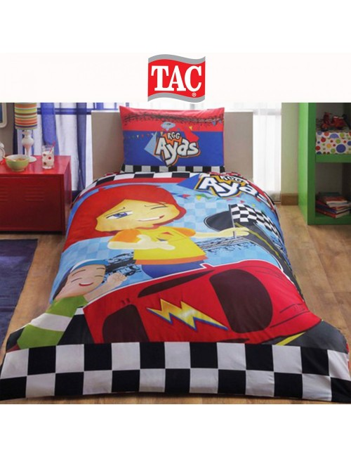 TAC Disney / Ayas Race Лицензионные Комплекты детского постельного белья с героями из мультиков Ранфорс