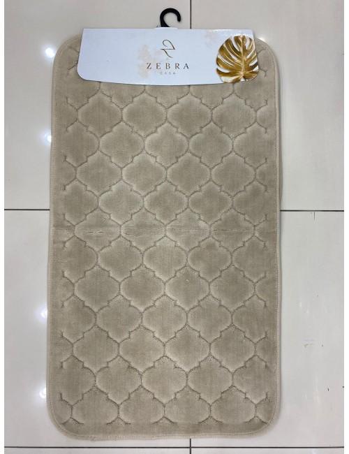 ZEBRA CASA SOLİD BEJ / Очень мягкие коврики для ванной комнаты