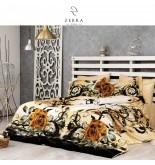 Постельное белье Zebra Casa Bohemia 3D Сатин / евро