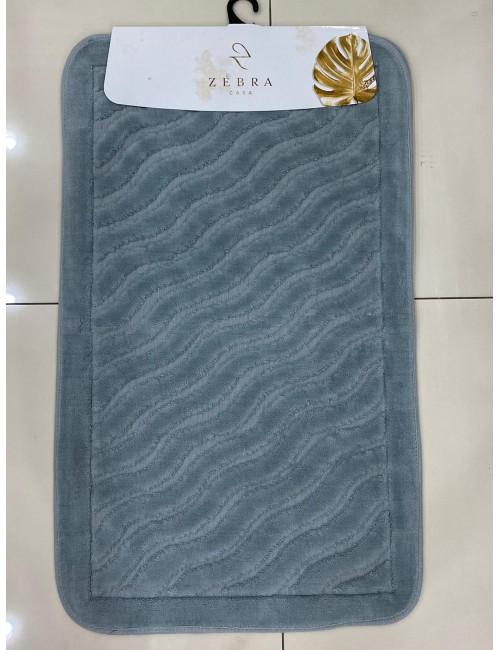 ZEBRA CASA SIDNEY GRI / Очень мягкие коврики для ванной комнаты