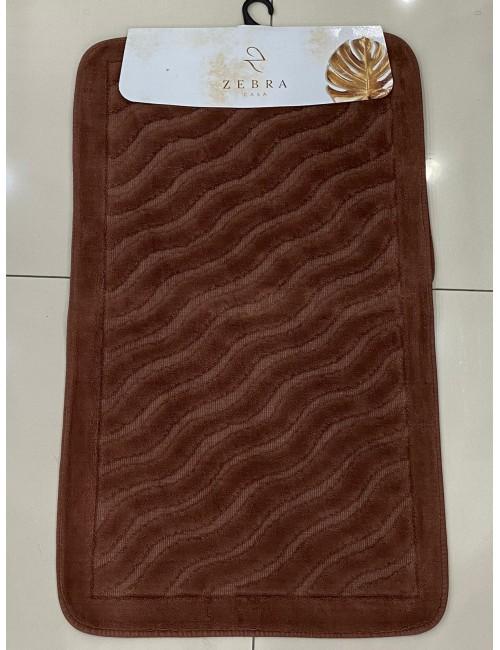 ZEBRA CASA SIDNEY KAHVE / Очень мягкие коврики для ванной комнаты