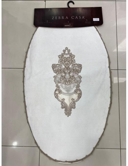 ZEBRA CASA WILD ROSE KREM / ОВАЛНЫЕ коврики для ванной комнаты