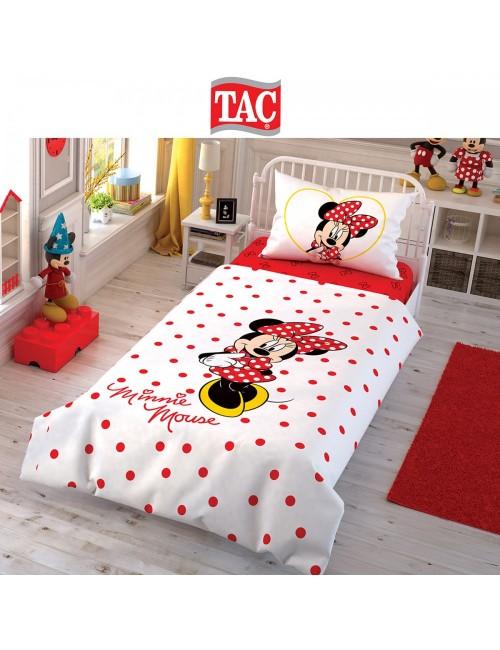 TAC Disney / Minnie Лицензионные Комплекты детского постельного белья с героями из мультиков Ранфорс
