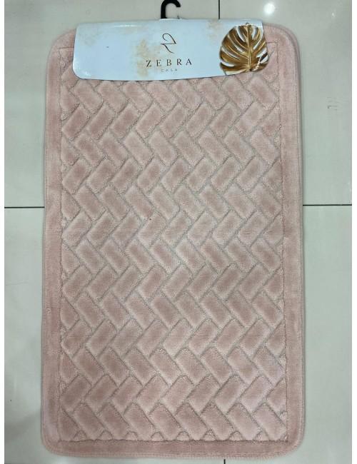ZEBRA CASA JUDY PEMBE / Очень мягкие коврики для ванной комнаты