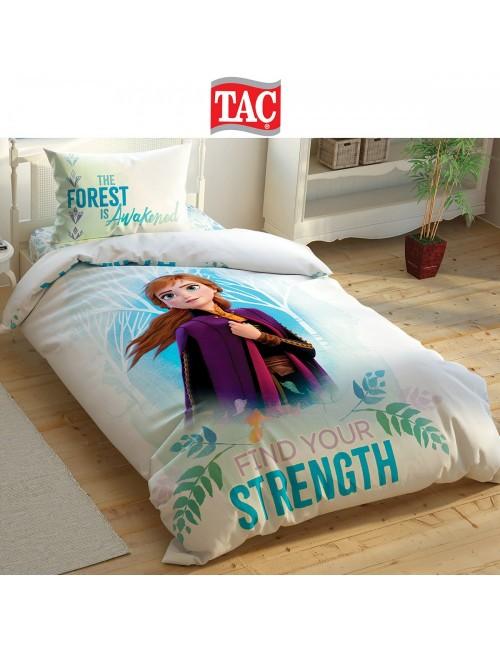 TAC Disney / Frozen 2 Double sold Лицензионные Комплекты детского постельного белья с героями из мультиков Ранфорс