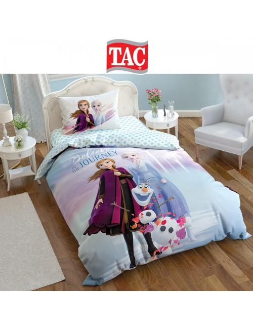 TAC Disney / Frozen-2 Лицензионные Комплекты детского постельного белья с героями из мультиков Ранфорс