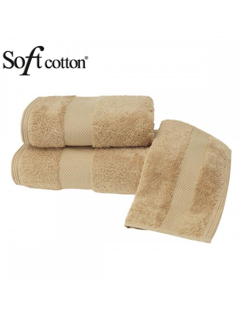 Soft Сotton / Полотенце банное 85х150 см Deluxe (hardal)