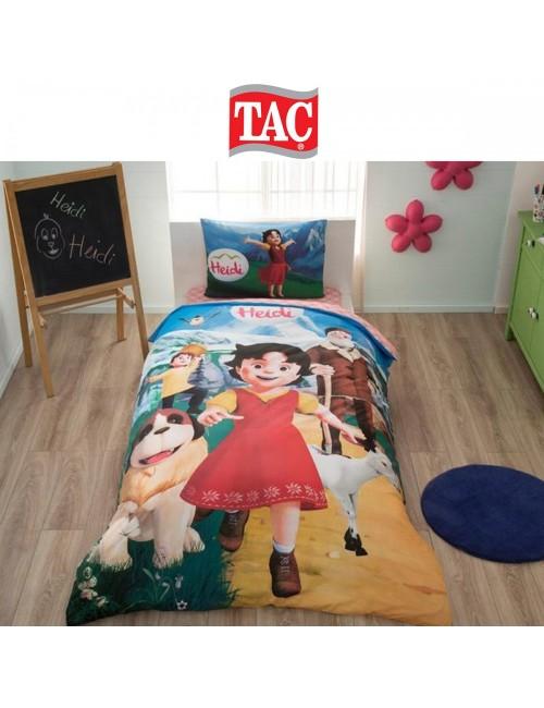 TAC Disney / Heidi Лицензионные Комплекты детского постельного белья с героями из мультиков Ранфорс