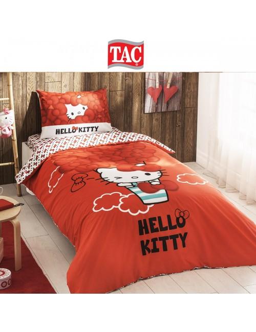 TAC Disney / Hello kitty bow Лицензионные Комплекты детского постельного белья с героями из мультиков Ранфорс