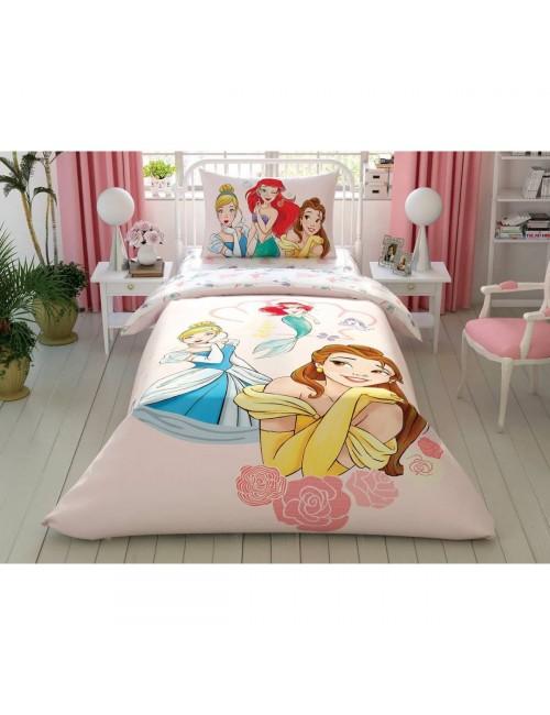TAC Disney / PRINCESS GIRL POWER Лицензионные Комплекты детского постельного белья с героями из мультиков Ранфорс