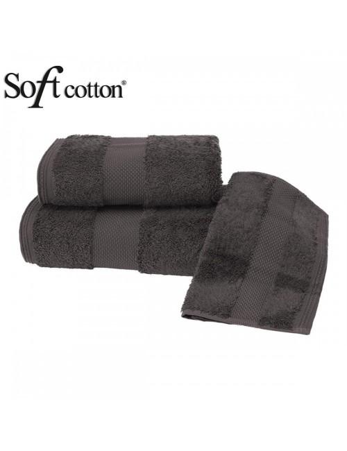 Soft Сotton / Полотенце банное 85х150 см Deluxe (kahve)