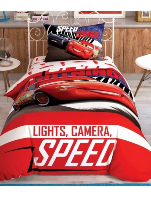 TAC Disney / Cars Spectator Лицензионные Комплекты детского постельного белья с героями из мультиков Ранфорс