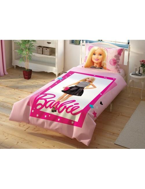 TAC Disney / Barbie Лицензионные Комплекты детского постельного белья с героями из мультиков Ранфорс