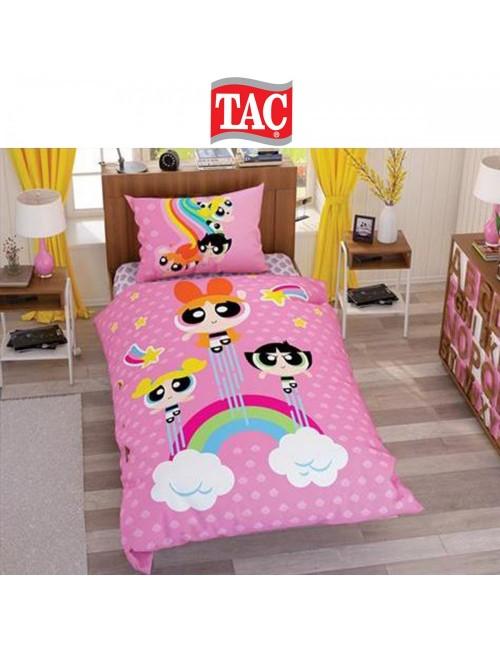 TAC Disney / Power Puff Girls Stars Лицензионные Комплекты детского постельного белья с героями из мультиков Ранфорс