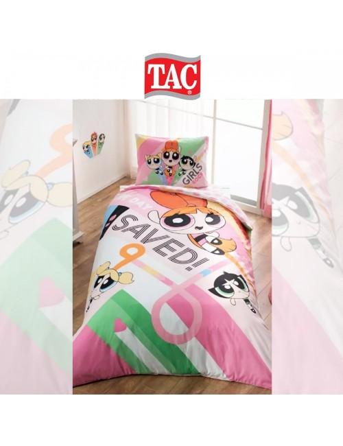 TAC Disney / Powerpuff Girls Лицензионные Комплекты детского постельного белья с героями из мультиков Ранфорс