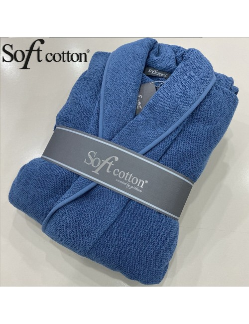 Халат мужской Soft Cotton Lord mavi