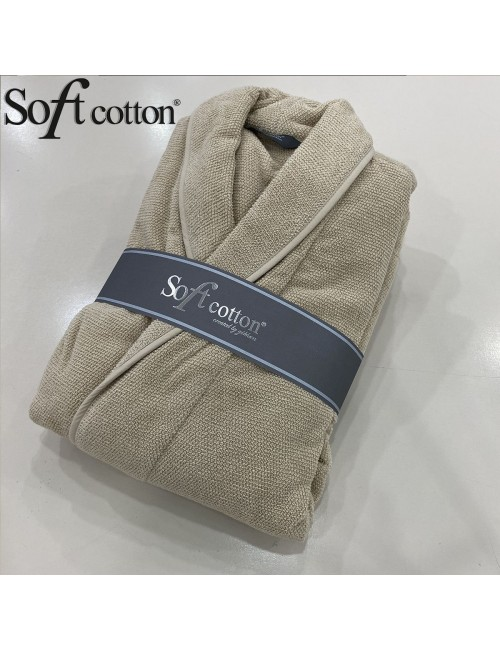 Халат мужской Soft Cotton Lord Bej