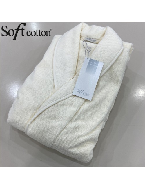 Халат мужской Soft Cotton Lord Krem