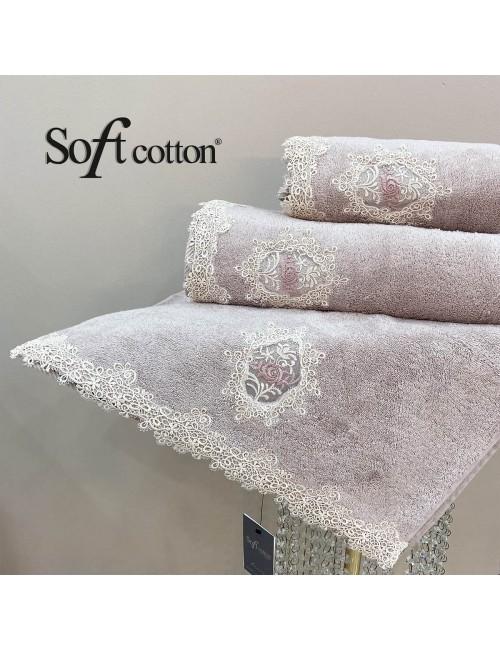 Soft Сotton / Полотенце банное 85х150 см Destan (lila)
