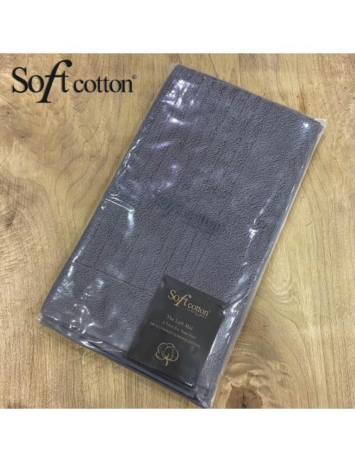 Полотенце-коврик для ног Soft Cotton Loft (Antrasit) 50x90 см