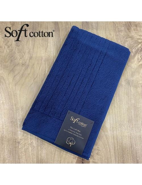 Полотенце-коврик для ног Soft Cotton Loft (lacivert) 50x90 см