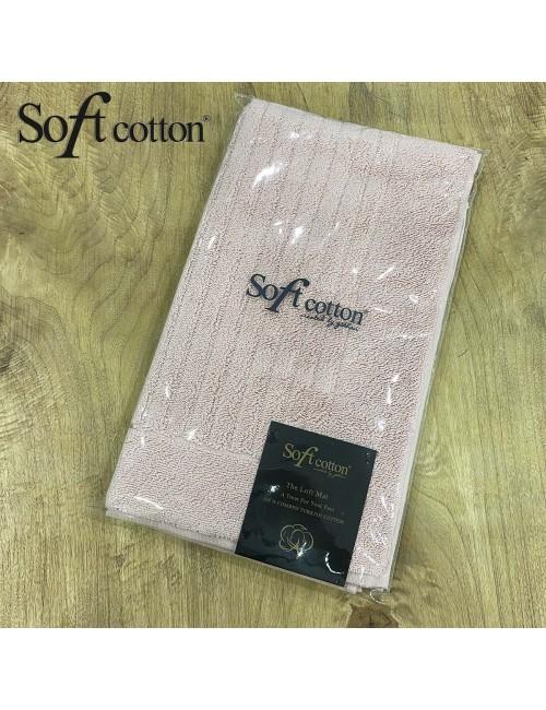 Полотенце-коврик для ног Soft Cotton Loft (pudra) 50x90 см