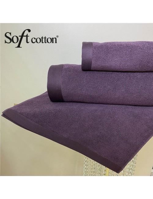 Soft Сotton / Полотенце банное 85х150 см Lord (mor)