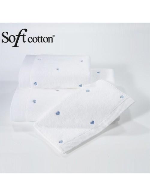 Soft Сotton / Полотенце банное 85х150 см Love (Mavi)