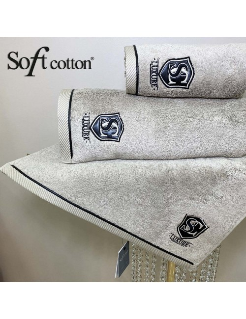 Soft Сotton / Полотенце банное 85х150 см Luxure (toprak)