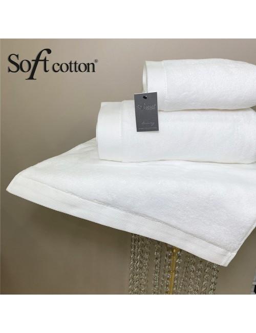Soft Сotton / Полотенце банное 85х150 см Micro (Beyaz)