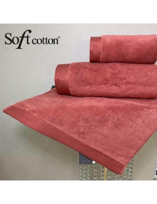 Soft Сotton / Полотенце банное 85х150 см Micro (kiremit)