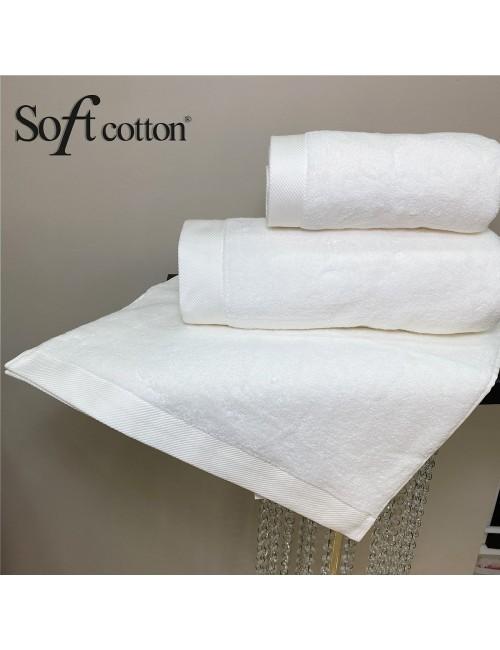 Soft Сotton / Полотенце банное 85х150 см Micro (krem)
