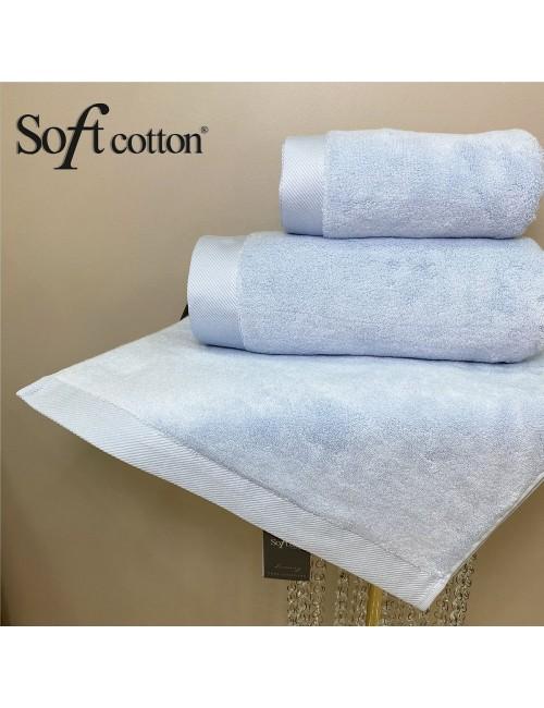 Soft Сotton / Полотенце банное 85х150 см Micro (Acik-mavi)